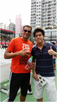 Detinho, a household name in Hong Kong football